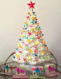 Ceramic Christmas Tree Decorations - ceramic christmas trees the decorologist