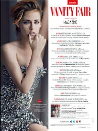 Magazine Vanity Fair Kristen Stewart In Vanity Fair Magazine France September 2014