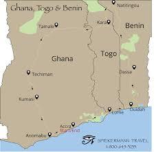 Accra Ghana Map Spiekermann Travel