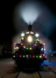 christmas lights train ride the christmas train next stop the north pole christmas 2013