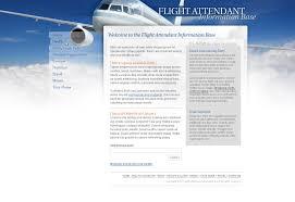Sample Flight Attendant Resume Web Design Portfolio Bradley J Wiatr