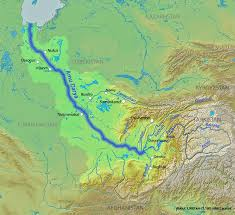 Asia Rivers Map by Shams I Bala And The Historical Shambhala Kingdom Ancient