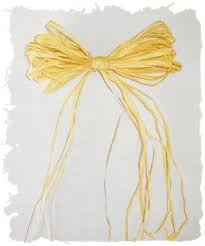 raffia bows how to make a bow raffia bow