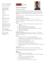 Sample Resume For Mechanical Engineer by Cv Samples For Engineering Students