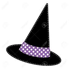 halloween background transparent witches hat vector on transparent background royalty free cliparts