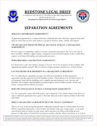 Child Support Contract Template 5 Separation Agreement Templatereport Template Document Report