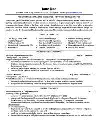 Php Developer Resume Database Developer Resume Template Thehawaiianportal Com