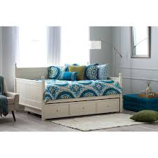 daybed twin bed pop up trundle frame rail hemnes white with and