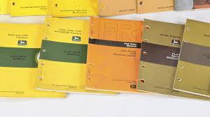 john deere technical manuals lot of17 l24 davenport 2016