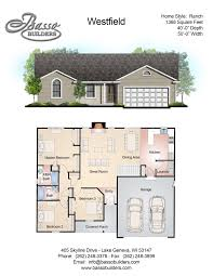 floor plans basso builders click here to download the westfield pdf sheet