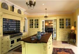 Yellow Kitchen Cabinets - designing home kitchen cabinet colour trends