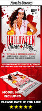 halloween nurse party flyer by youngicegfx graphicriver