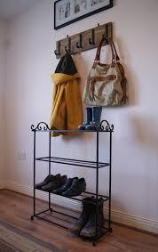 entryway storage package handmade shoe rack and wall mounted