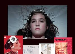 halloween movie night with the independent magazines stack magazines