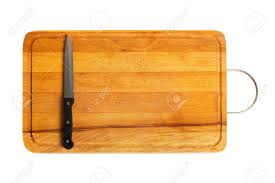 kitchen knife on cutting board stock photo picture and royalty