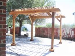 Pergola Post Base by Pergola Built With Nail Gun Hubby Received For Father U0027s Day Youtube