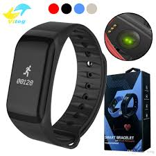 heart rate calorie bracelet images Fitness tracker wristband heart rate monitor smart band f1 jpg