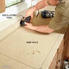 installing laminate countertops family handyman
