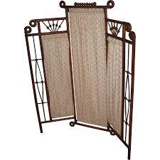 antique room divider antique oak stick u0026 ball child u0027s 3 part folding screen from