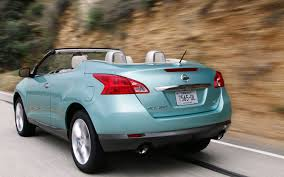 nissan murano trunk space nissan murano crosscabriolet first drive automobile magazine