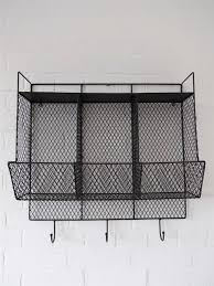 Bathroom Wire Rack Bathroom Metal Wire Wall Rack Shelving Display Shelf Industrial