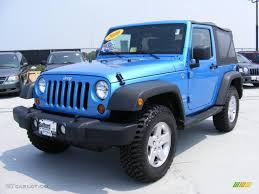 jeep grey blue 2010 surf blue pearl jeep wrangler sport islander edition 4x4