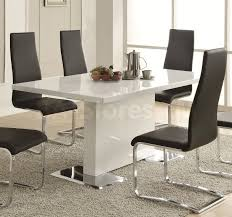 Side Chairs For Bedroom by 912 25 Modern Dining 4 Pc Dining Set Table And 4 Side Chairs