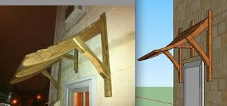 Wood Awning Design New Awning For The Back Door By Mattobjects Lumberjocks Com