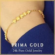gold bracelet woman images Prima gold japan rakuten global market pure gold bracelet for jpg