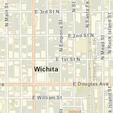 zip code map wichita ks usps com location details