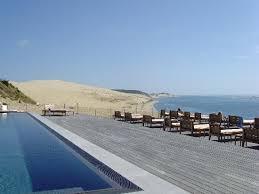 chambre d hote dune du pilat la piscine et la dune du pyla photo de la co o rniche pyla