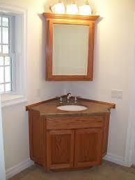 corner glacier bay bathroom cabinet with mirrors glacier bay