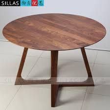 table ronde de bureau mobilier en noyer solide manger en bois de table 1 2 m table