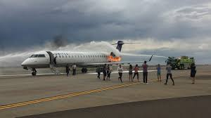 united express denver airplane emergency what happens when your