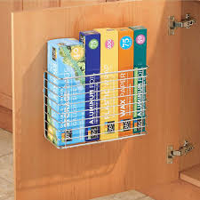 kitchen cabinet door storage racks metal wire wall cabinet door mount kitchen storage