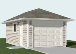 16 X 24 Garage Plans by Hipped Roof Style Garage Plans Ready To Use By Behm Designbehm