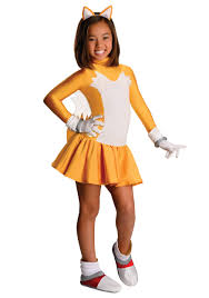 child tails girls costume