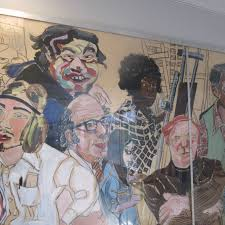 Paint By Number Mural by Rosenblatt Continued Remembrance Of Art People Past And Present