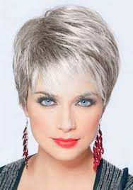 hair color for over 60 women very short haircuts for women over 60
