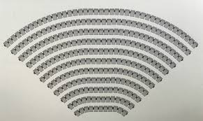 Floor Level Seating Furniture by Auditorium Seating Layout U0026 Dimensions Guide Theatre Solutions Inc
