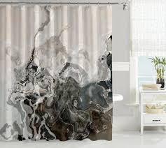 abstract art gray u0026 black shower curtains u2013 abstract art home