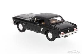 1965 Mustang Black 1965 Ford Mustang Soft Top Black Superior 5719 1 34 Scale