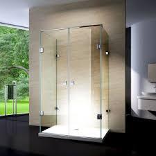 china corner bathroom glass simple sliding bath shower cabin for