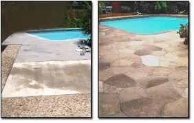 Refinishing Concrete Patio Concrete Resurfacing Categories Artistic Masons