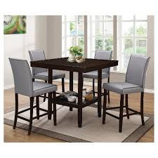 counter height table set dining room sets target