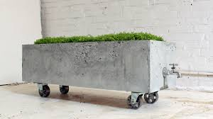 How To Make Homemade Concrete by Watch Make A Diy Planter That Doubles As A Beer Cooler Diy
