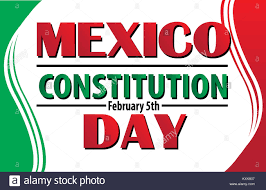 Colors Of The Mexican Flag Mexico Constitution Day February 5 Logo With Mexican Flag Colors