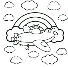 Coloring Pusheen Coloring Pages To Print As Well As Pusheen Cat Coloring Pages For Printable