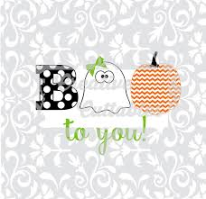halloween svg boo to you pumpkin ghost for silhouette or other