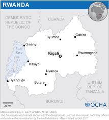 Map Of Rwanda Rwanda Location Map 2011 Rwanda Reliefweb